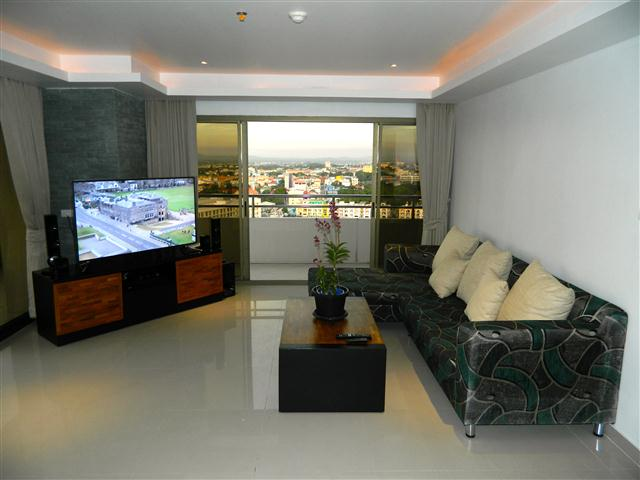 2BR with city view - Condominium - Pattaya Central -