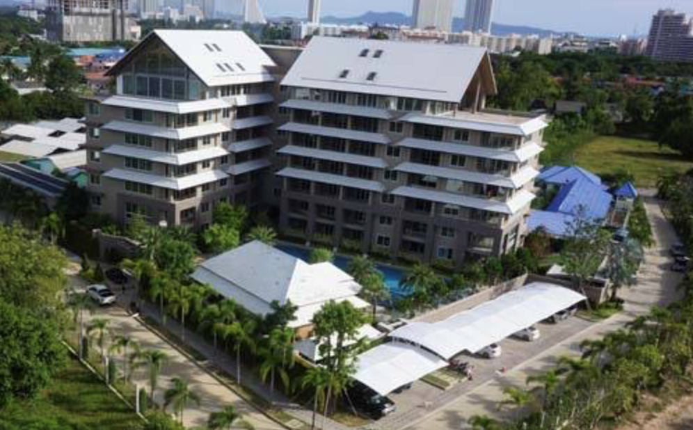 Nathanicha Residence - 2BR for sale by AUCTION - Condominium - Jomtien -