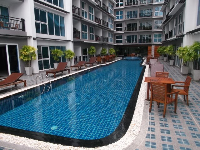 Studio - Avenue Residence - Condominium - Pattaya Sai Song 15 - Soi 15
