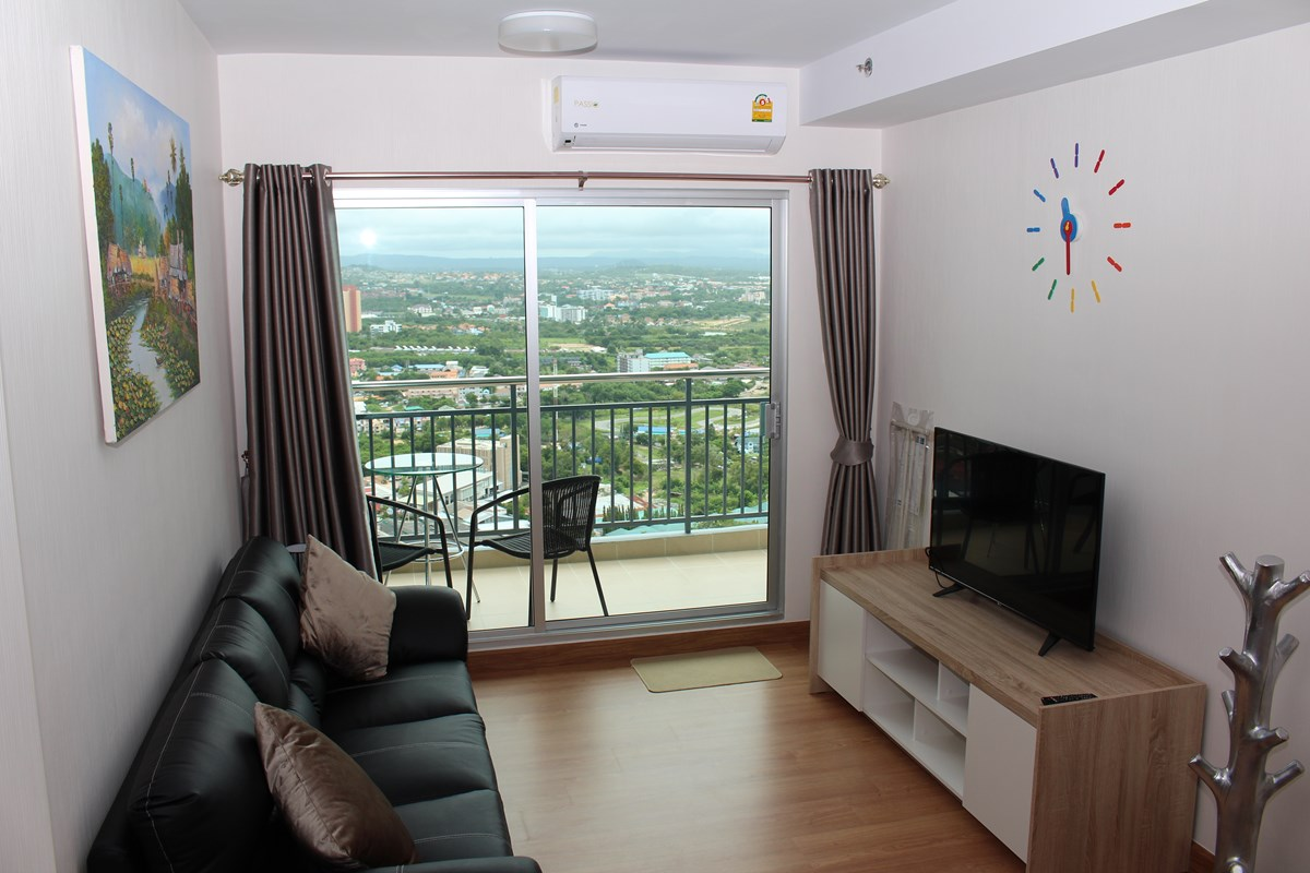 1 bedroom supalai mare condo condominium thepprasit for 1 bedroom condo for rent